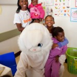 um-team-evelina-easter-bunny-and-kids-at-kidzpositive-clinic-2011